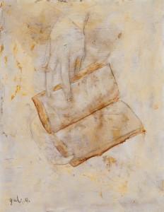作者Gulistan古丽斯坦 作品名称《记忆的性质》Essence of Memony 系列 年代:2006 材质:布面油画Oil on Canvas 尺寸:35x27cm